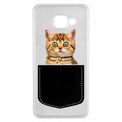 Чехол для Samsung A3 2016 Cat in your pocket