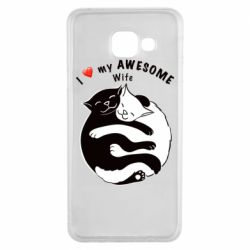 Чехол для Samsung A3 2016 Cats with a smile