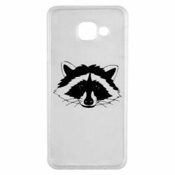 Чохол для Samsung A3 2016 Cute raccoon face