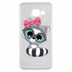 Чехол для Samsung A3 2016 Cute raccoon
