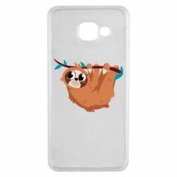 Чохол для Samsung A3 2016 Cute sloth
