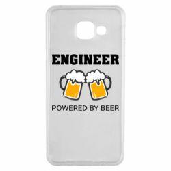 Чохол для Samsung A3 2016 Engineer Powered By Beer