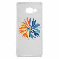 Чохол для Samsung A3 2016 Flower coat of arms of Ukraine