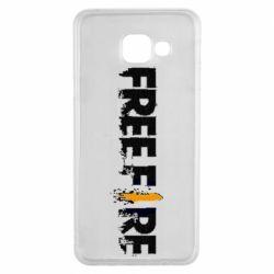 Чехол для Samsung A3 2016 Free Fire spray