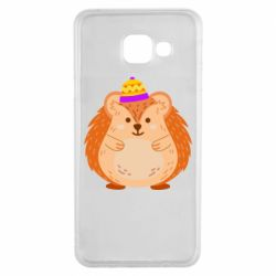 Чохол для Samsung A3 2016 Little hedgehog in a hat