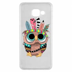 Чохол для Samsung A3 2016 Little owl with feathers