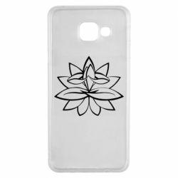 Чохол для Samsung A3 2016 Lotus yoga