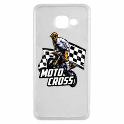 Чехол для Samsung A3 2016 Motocross