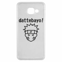 Чохол для Samsung A3 2016 Naruto dattebayo!