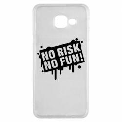Чохол для Samsung A3 2016 No Risk No Fun