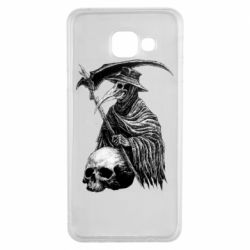 Чехол для Samsung A3 2016 Plague Doctor graphic arts