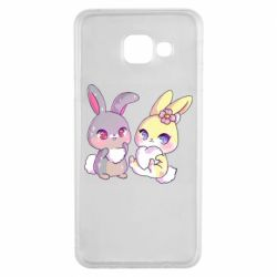 Чохол для Samsung A3 2016 Rabbits In Love