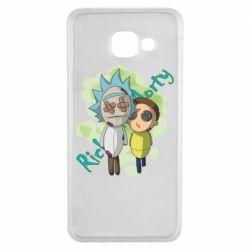Чохол для Samsung A3 2016 Rick and Morty voodoo doll