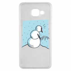 Чохол для Samsung A3 2016 Snowman. It's Cold!