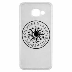 Чохол для Samsung A3 2016 Sun in runes
