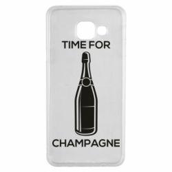 Чохол для Samsung A3 2016 Time for champagne