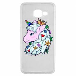 Чохол для Samsung A3 2016 Unicorn Princess