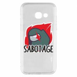 Чохол для Samsung A3 2017 Among Us Sabotage