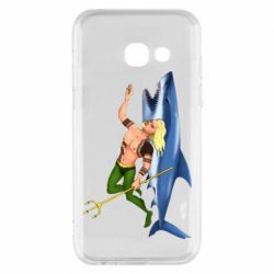 Чехол для Samsung A3 2017 Aquaman with a shark