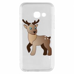 Чехол для Samsung A3 2017 Cartoon deer