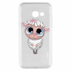 Чехол для Samsung A3 2017 Cute lamb with big eyes