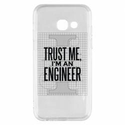 Чохол для Samsung A3 2017 Довірся мені я інженер
