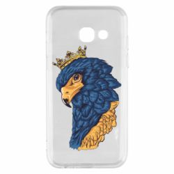 Чехол для Samsung A3 2017 Eagle with a crown on its head