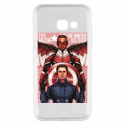 Чохол для Samsung A3 2017 Falcon and the Winter Soldier Art