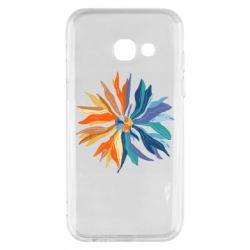 Чохол для Samsung A3 2017 Flower coat of arms of Ukraine