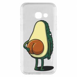 Чохол для Samsung A3 2017 Funny avocado