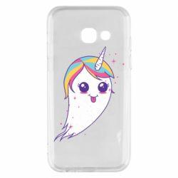 Чохол для Samsung A3 2017 Ghost Unicorn