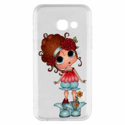 Чехол для Samsung A3 2017 Girl with big eyes