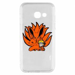 Чохол для Samsung A3 2017 Kurama And Naruto