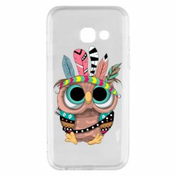 Чохол для Samsung A3 2017 Little owl with feathers