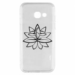 Чохол для Samsung A3 2017 Lotus yoga