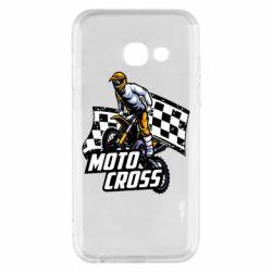 Чехол для Samsung A3 2017 Motocross