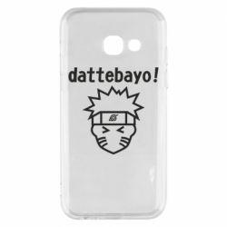Чохол для Samsung A3 2017 Naruto dattebayo!