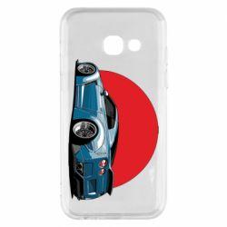 Чехол для Samsung A3 2017 Nissan GR-R Japan
