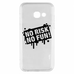Чохол для Samsung A3 2017 No Risk No Fun