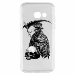 Чехол для Samsung A3 2017 Plague Doctor graphic arts