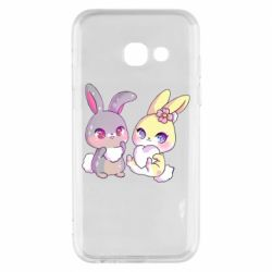 Чохол для Samsung A3 2017 Rabbits In Love