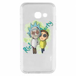 Чохол для Samsung A3 2017 Rick and Morty voodoo doll