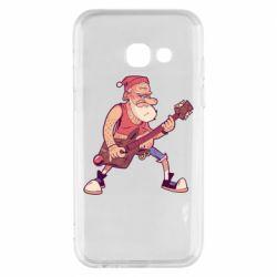 Чохол для Samsung A3 2017 Rock'n'roll Santa