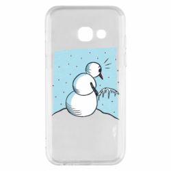Чохол для Samsung A3 2017 Snowman. It's Cold!