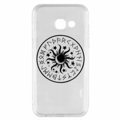 Чохол для Samsung A3 2017 Sun in runes