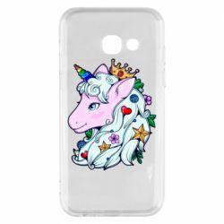 Чохол для Samsung A3 2017 Unicorn Princess