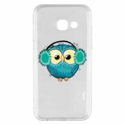 Чехол для Samsung A3 2017 Winter owl