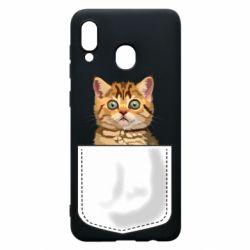 Чехол для Samsung A30 Cat in your pocket
