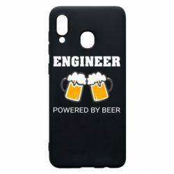 Чохол для Samsung A30 Engineer Powered By Beer