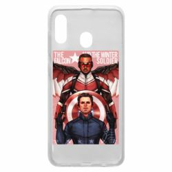 Чохол для Samsung A30 Falcon and the Winter Soldier Art